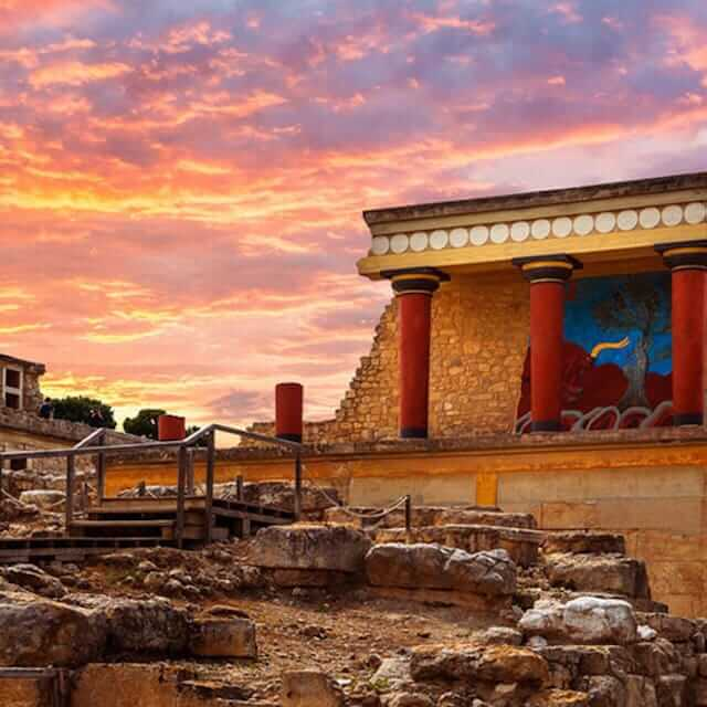 Knossos Archaiological Place | Crete, Greece