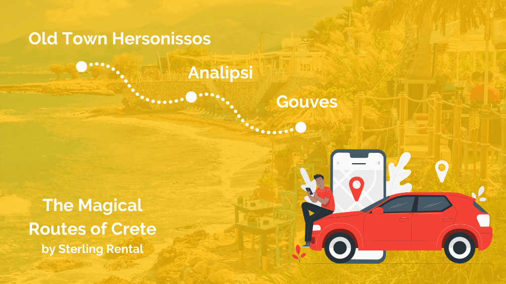 The magical routes of Crete
